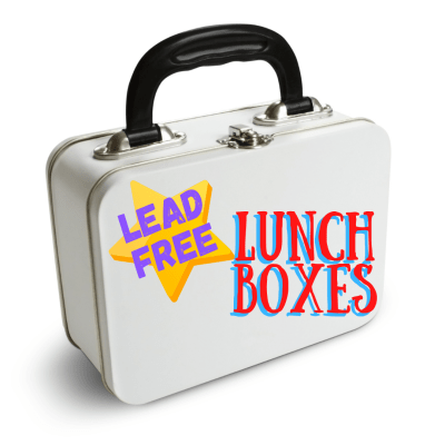 #BackToSchool: Lead-free lunch boxes!