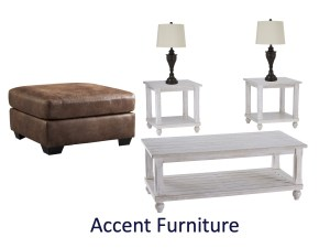 Rent to own accent furniture