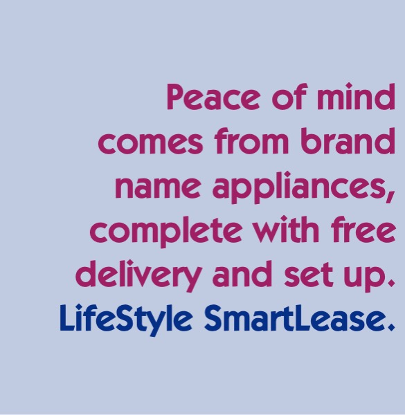 name brand appliances and free delivery