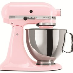 Kitchen Aid 5 Qt Mixer Moen Soap Dispenser Kitchenaid Ksm150 多功能攪拌機 粉色 Qt搅拌机