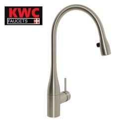 Kwc Kitchen Faucet Island Seats 6 Kwc瑞士燈廚房伸縮龍頭eve系列10 121 103 700 Led燈款不鏽鋼色 Kwc厨房龙头
