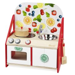 Wooden Toy Kitchens Outdoor On A Budget 小小主廚 桌上型木製玩具廚房 Howa Toys 德國木製玩具 木制玩具厨房