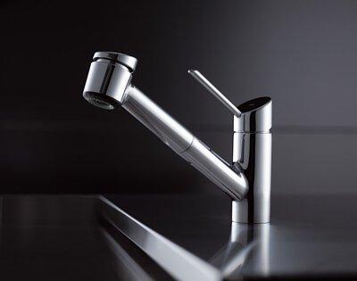 kwc kitchen faucet wooden ladder back chairs bliss 廚房伸縮龍頭 kwc厨房龙头