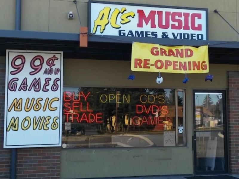 Al's Music & Games