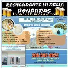 Mi Bella Honduras Restaurant