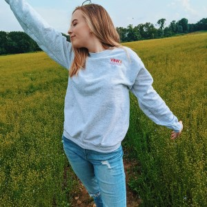 Vibin' & Thrivin' | Pastel Colored | Embroidered Jumper