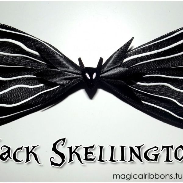 Jack Skellington Bow