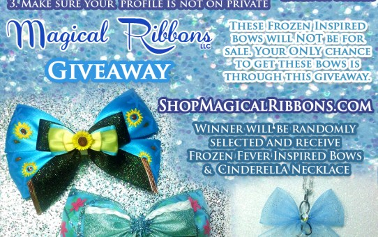 Magical Ribbons Frozen Fever Giveaway!