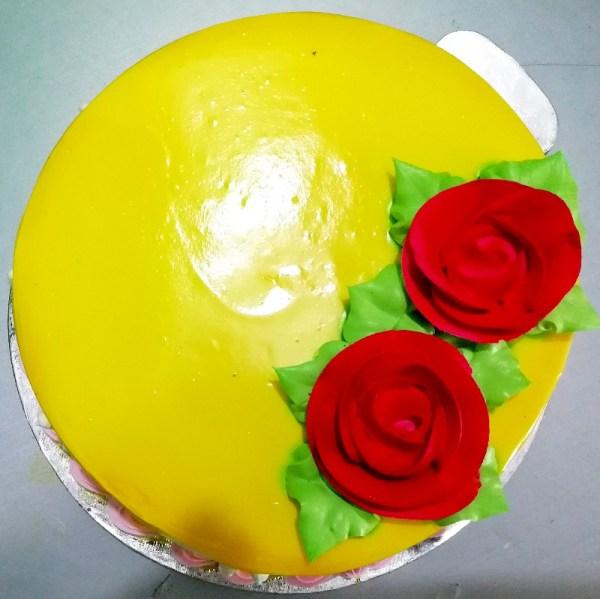 Yellow Pine Apple Cake