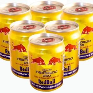 Redbull pack of 6 (रेड बुल )
