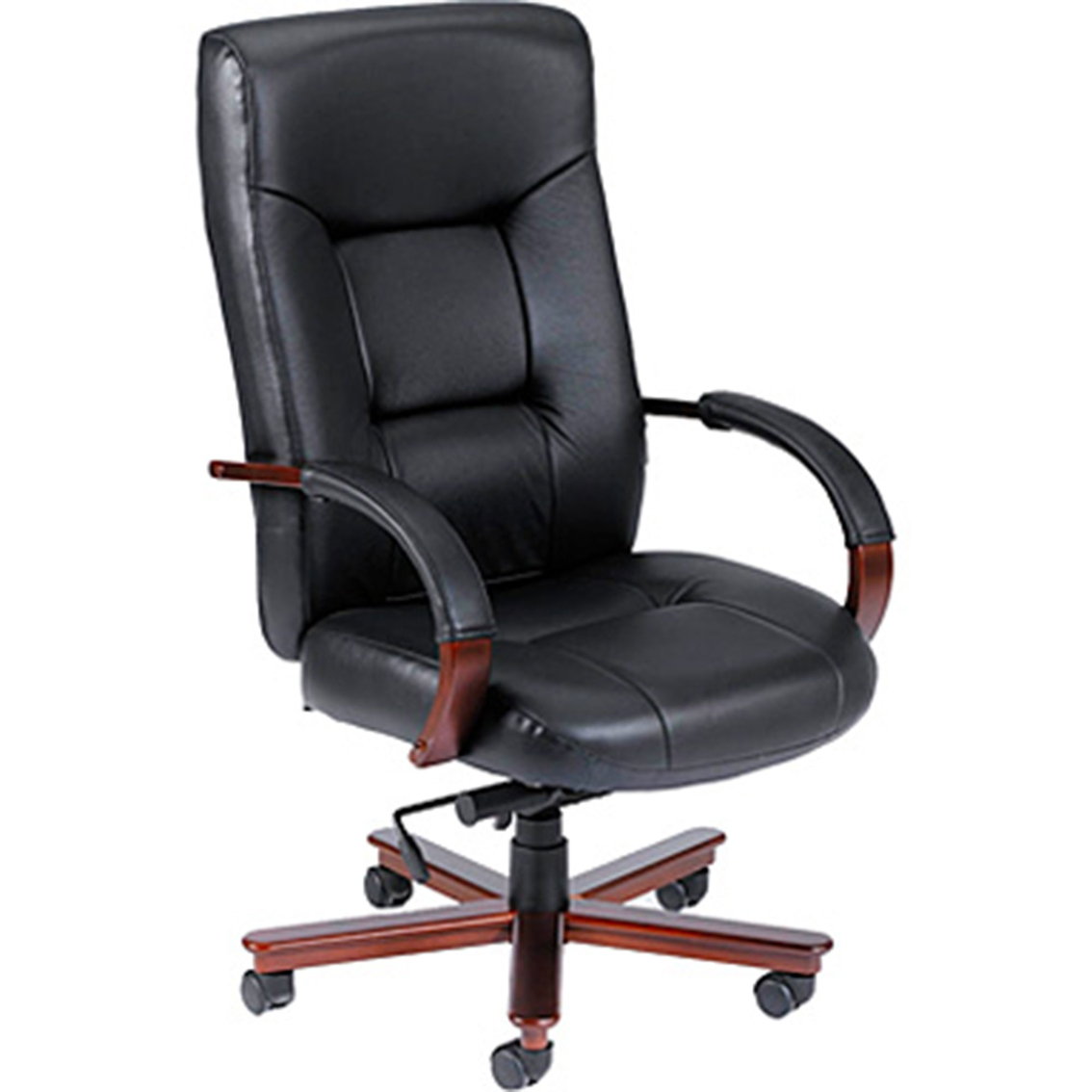 Top Grain Leather Office Chair Presidential Seating Black Top Grain Leather Computer