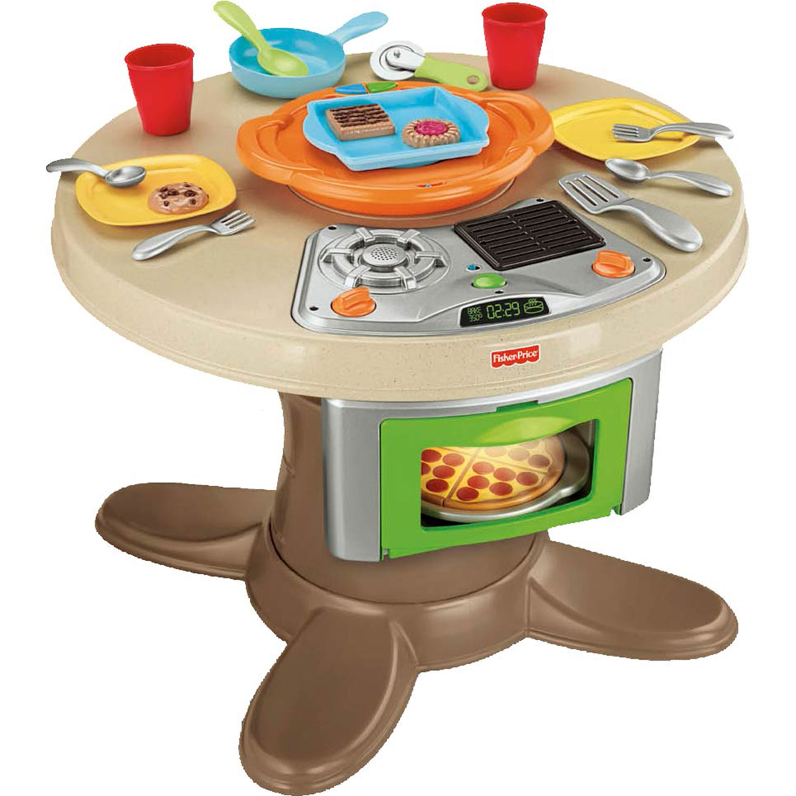Fisher Price Table And Chairs Fisher Price Servin 39 Surprises Kitchen And Table