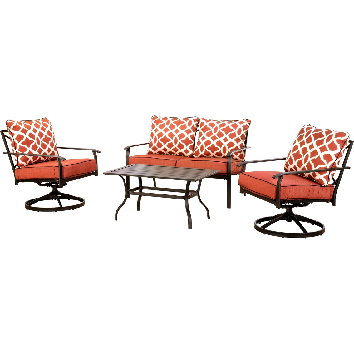 Big Sofa Christian Courtyard Creations Christian 4 Pc Cushion Sofa Set