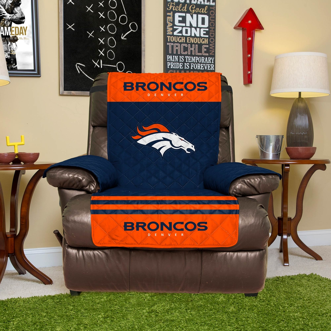 Denver Broncos Chair Pegasus Home Fashions Nfl Denver Broncos Furniture