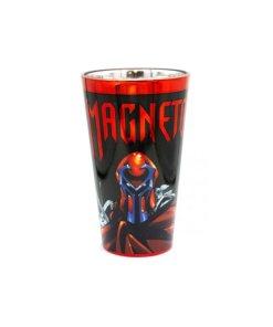 Marvel's Magneto chrome pint glass