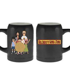Bob's Burgers family on ceramic mug