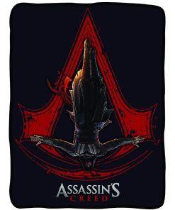 Assassin's Creed graphic fleece blanket