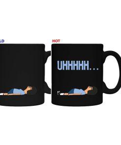 Bob Burger's Tina heat changing coffee mug