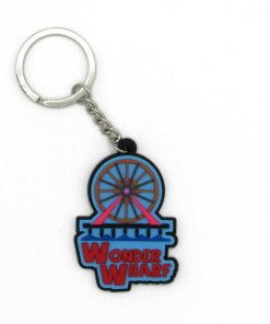 Bob's Burgers Wonder Wharf keychain