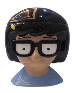 Cookie jar shaped like Tina from Bob's Burgers