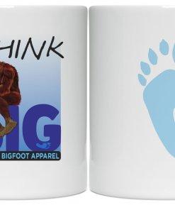 Official Big Foot coffee mug