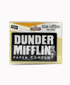The Office Dunder Mifflin iron-on patch