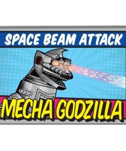 Bob's Burgers Mecha Godzilla magnet