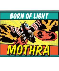 Bob's Burgers Mothra magnet
