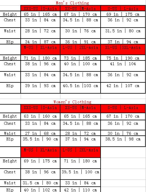 Asian Size : asian, Asian, Chart, Gallery
