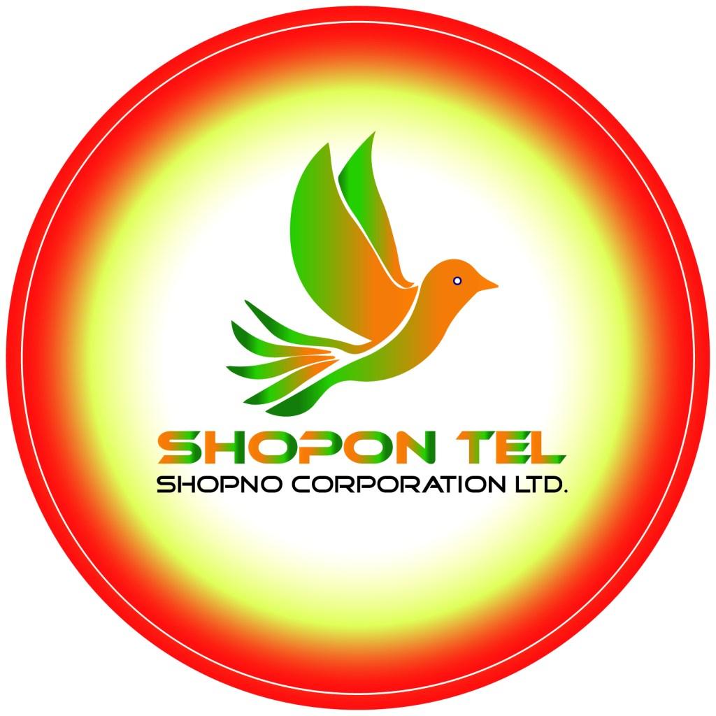 Shopon Tel Logo | Shopno Corporation