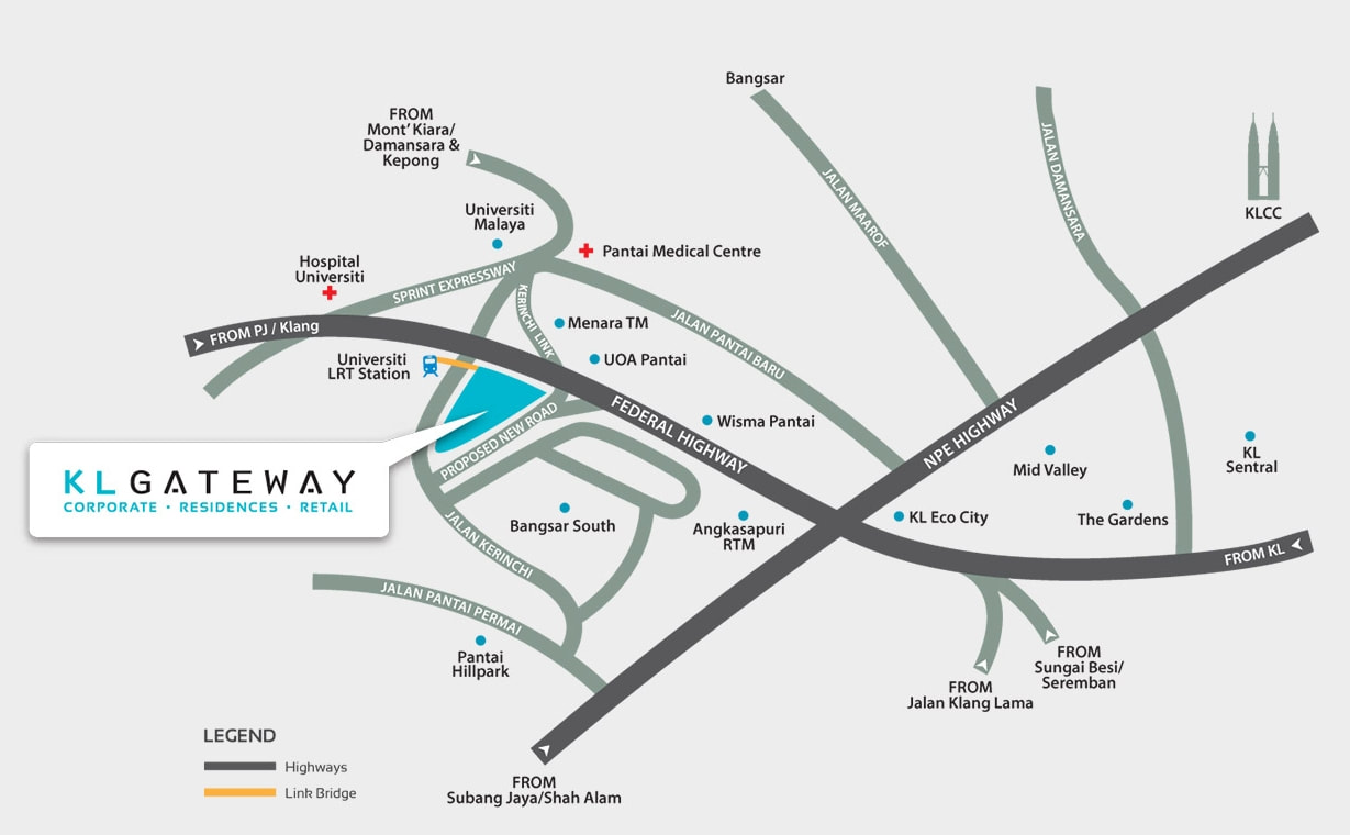 Menara SuezCap|KL Gateway Corporate Office|Bangsar South