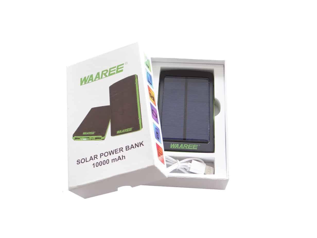solar power bank 10000 mah waaree wepcws305. Black Bedroom Furniture Sets. Home Design Ideas