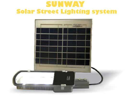 solar street light 15w sunway solar street lighting system by su kam. Black Bedroom Furniture Sets. Home Design Ideas