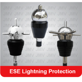 ESE lightning protection for Solar power system