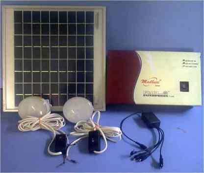 Madhuri Solar LED Home Light system