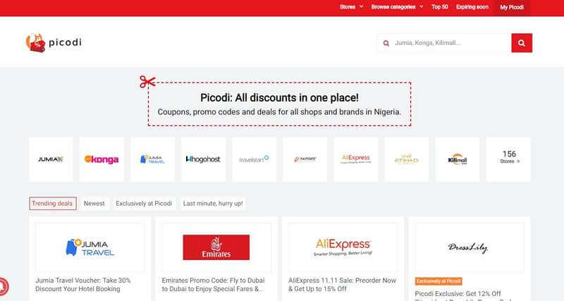 Top 6 Coupon And Deal Sites In Nigeria Best Deals