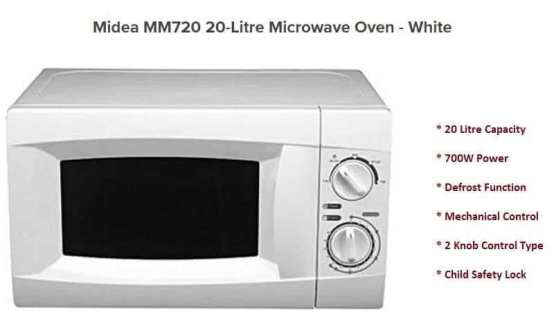 """Best """"MIDEA"""" Microwave oven in Nigeria Best Deals Product Reviews"""
