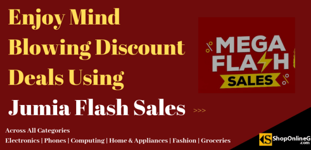 Enjoy Mind Blowing Discount Deals Using Jumia Flash Sales Shopping Guide