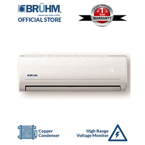 1.5HP Split Air Conditioner- White with Installation Kit