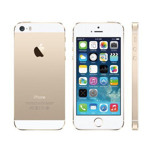 IPhone 5S 16GB Gold 4G LTE Fingerprint Unlock 4-inch Screen (Gift:accessories)