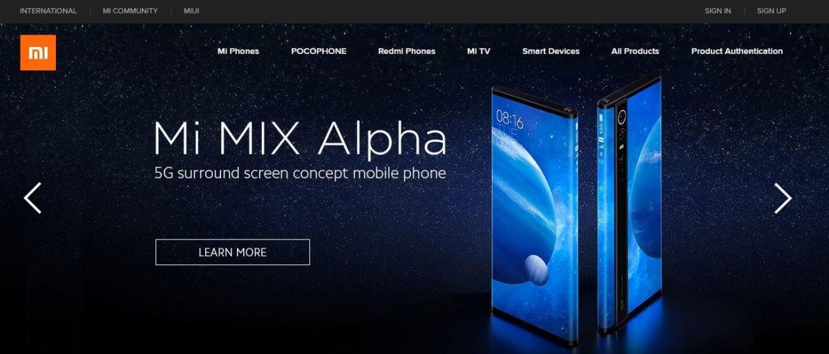 Xiami Mobile Website