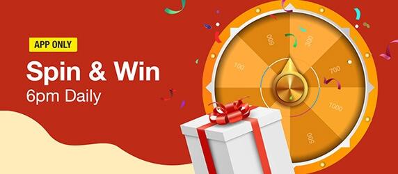 Jumia Anniversary Spin & Win