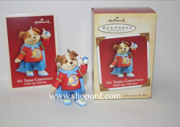 Hallmark 2004 Christmas Childs Age Collection Boy