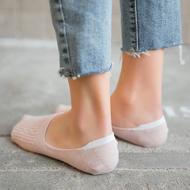 Women's Short Socks 5 Pairs Set
