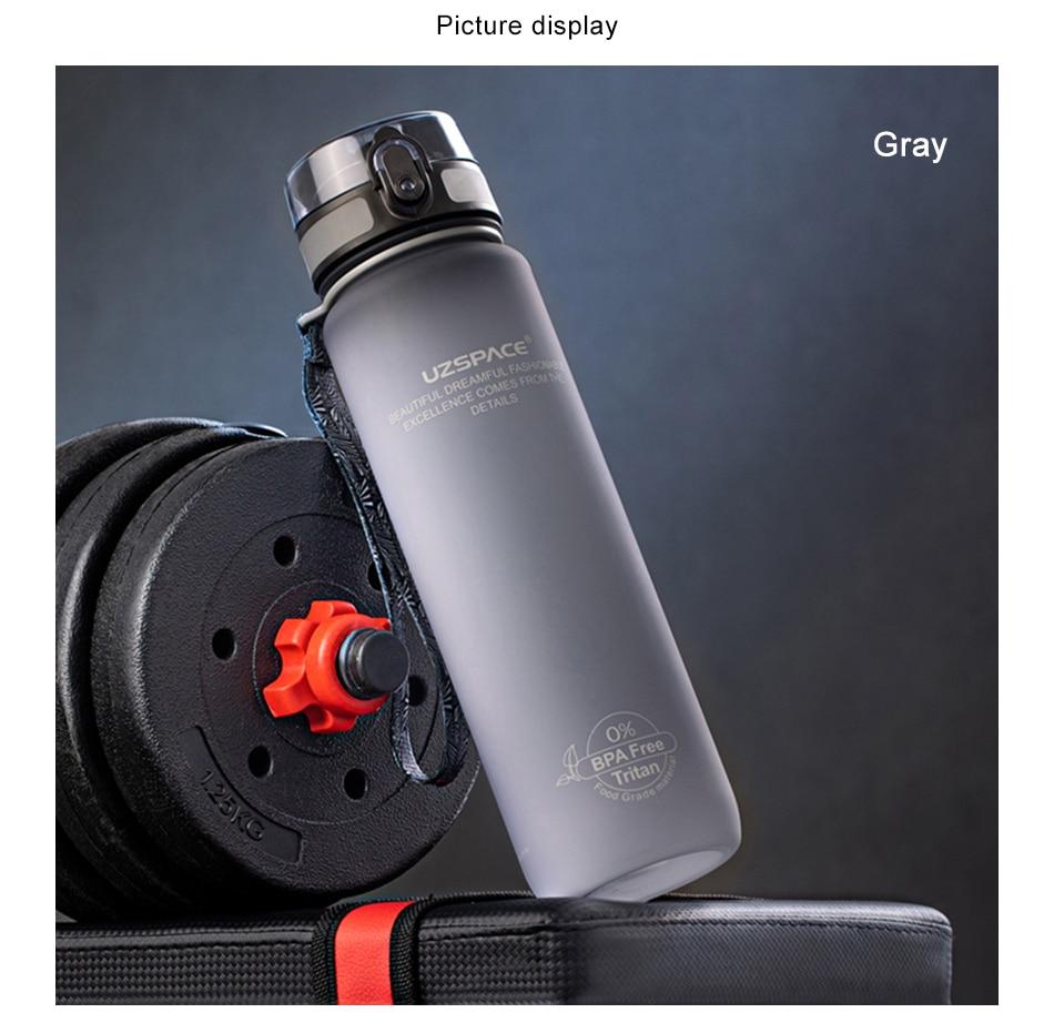 Matte Sports Water Bottle