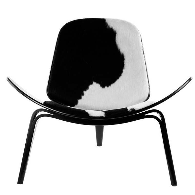Modern Three-Legged Wooden Chair