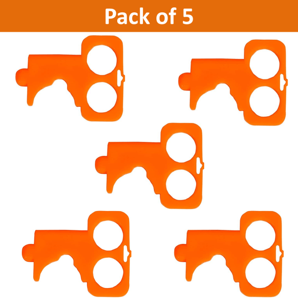 Multipurpose contactless covid 19 key pack of 5