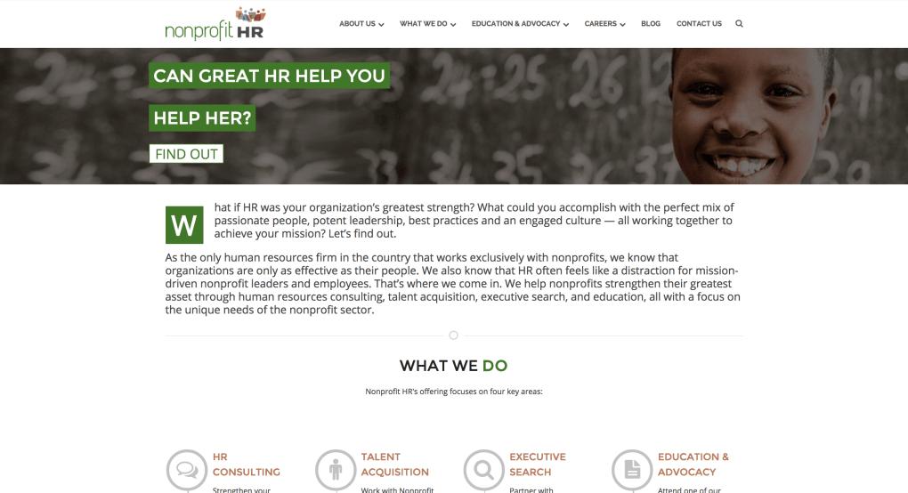 non-profit-hr-website