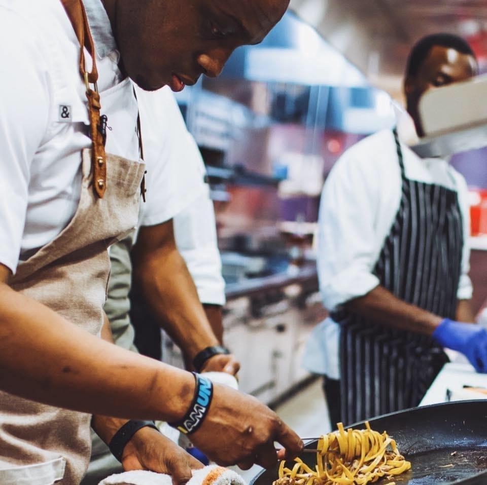 black chefs