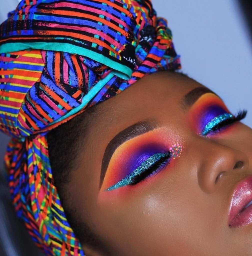 black makeup artists